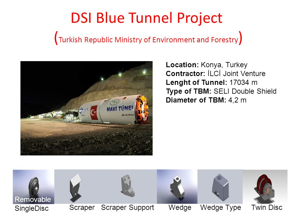 DSI Blue Tunnel Project (Turkish Republic Ministry of Environment and Forestry)