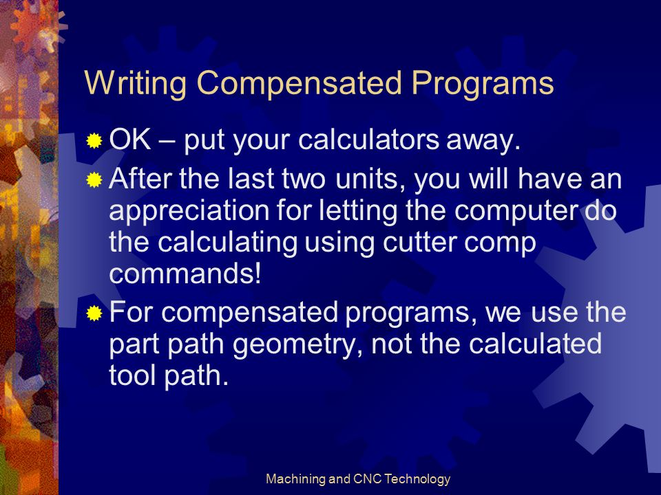 Writing Compensated Programs