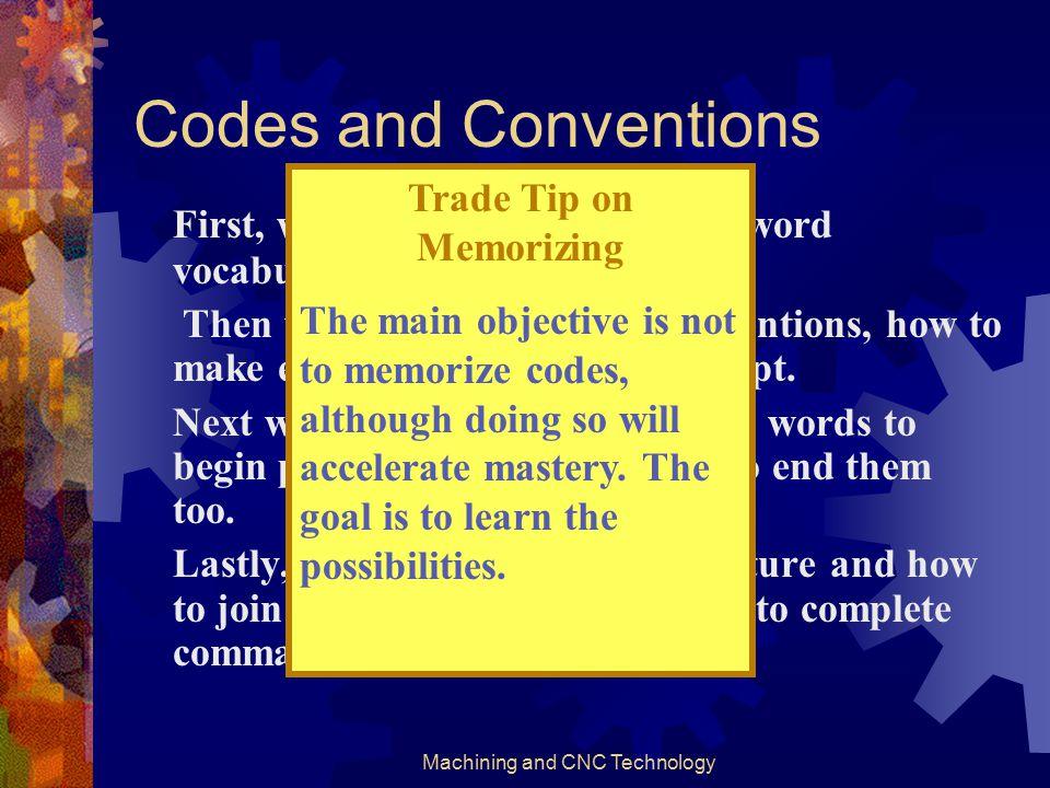 Trade Tip on Memorizing
