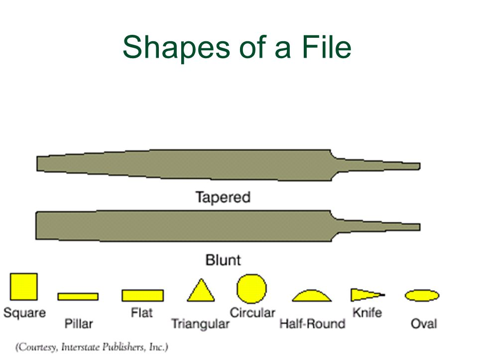 Shapes of a File