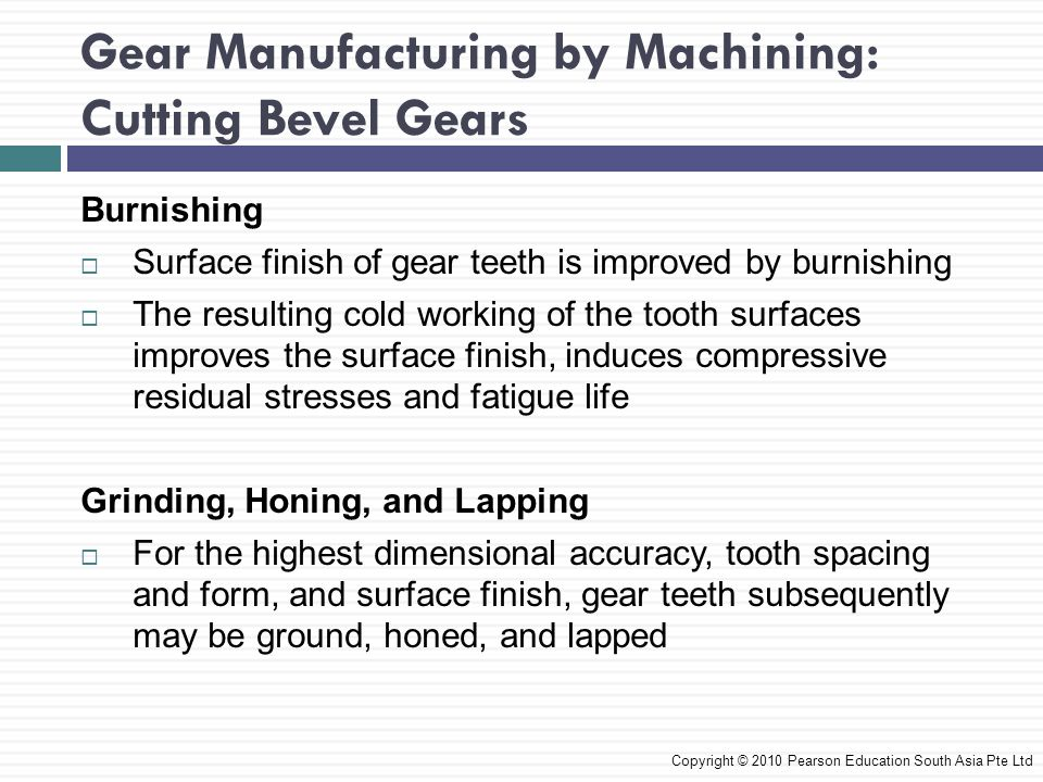 Gear Manufacturing by Machining: Cutting Bevel Gears