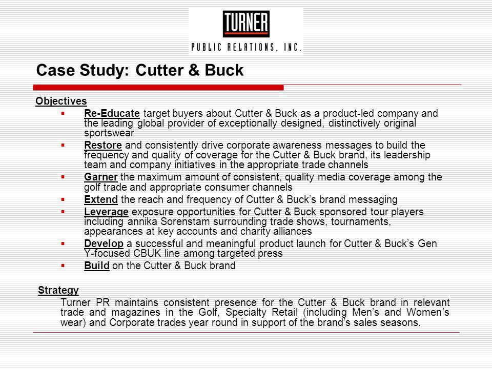 Case Study: Cutter & Buck