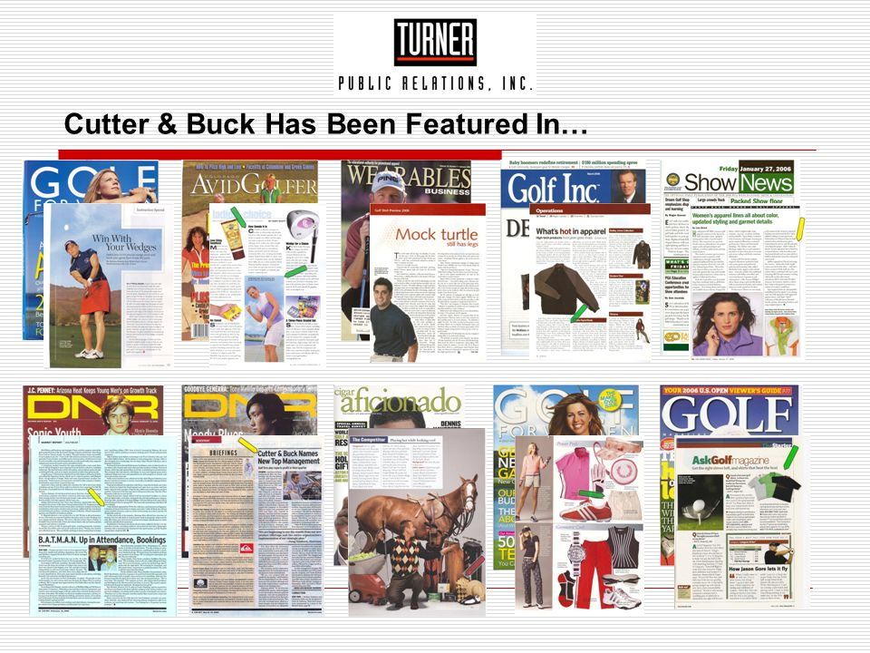 Cutter & Buck Has Been Featured In…