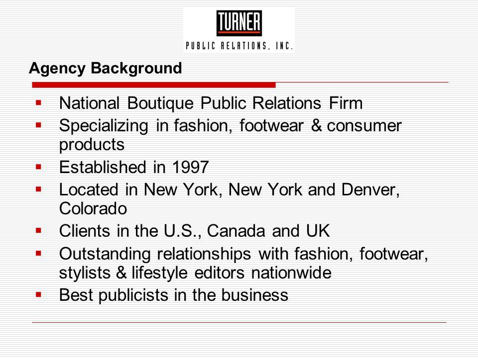 National Boutique Public Relations Firm