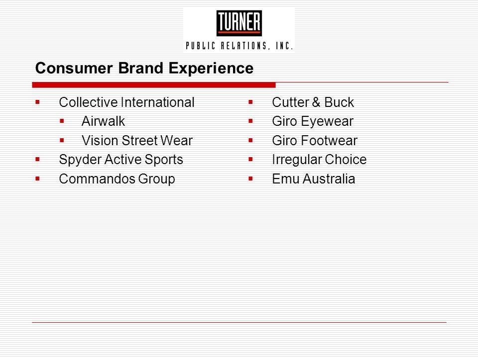 Consumer Brand Experience