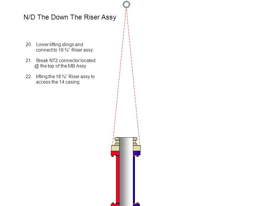 N/D The Down The Riser Assy