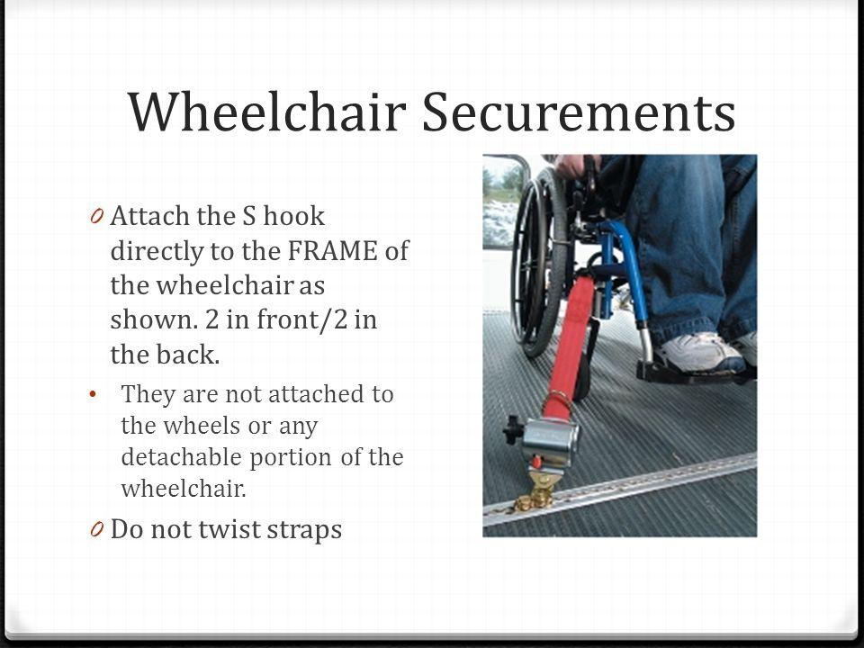 Wheelchair Securements