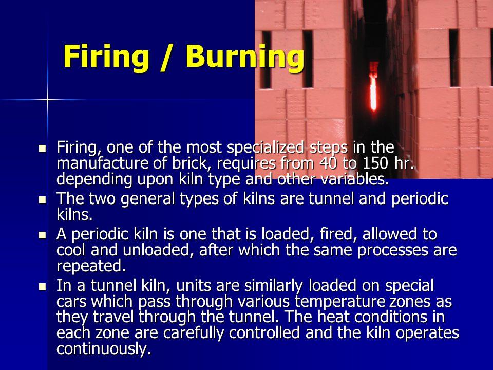 Firing / Burning