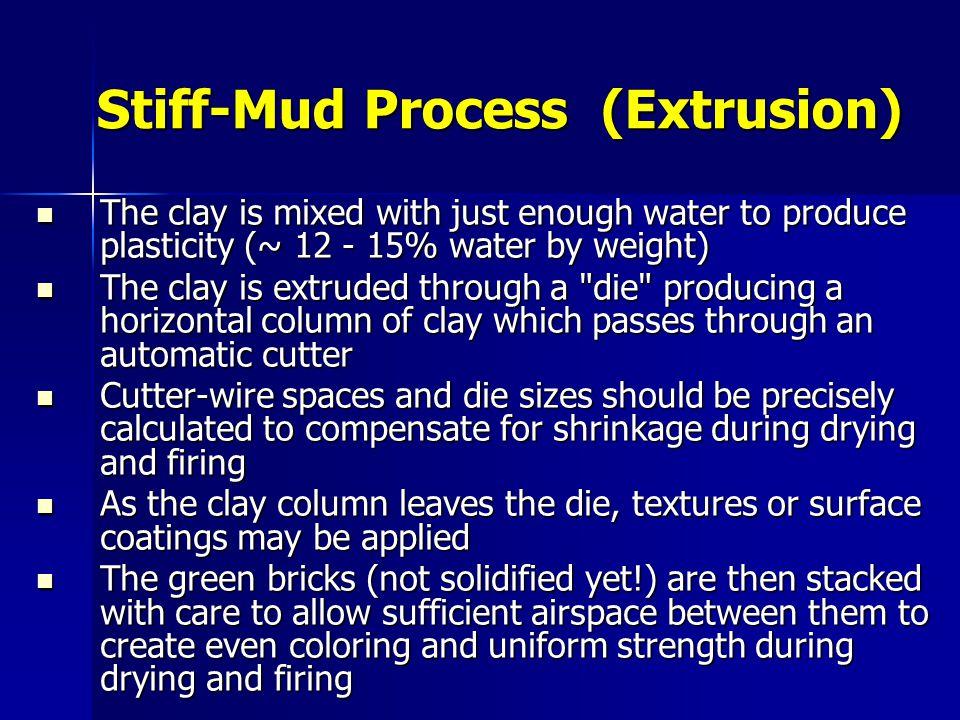 Stiff-Mud Process (Extrusion)
