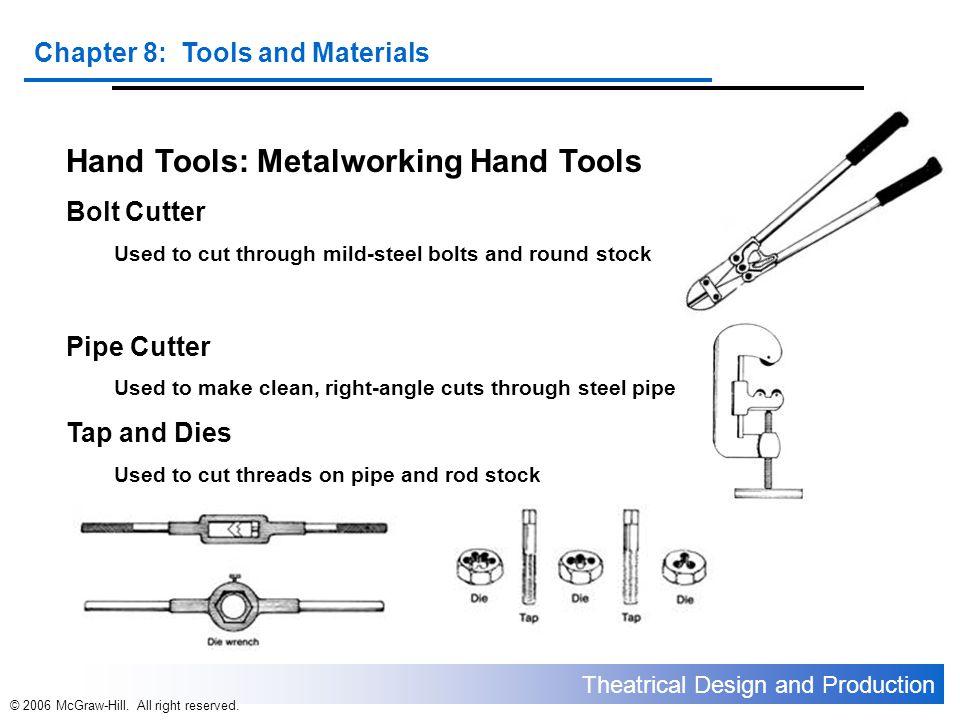 Hand Tools: Metalworking Hand Tools