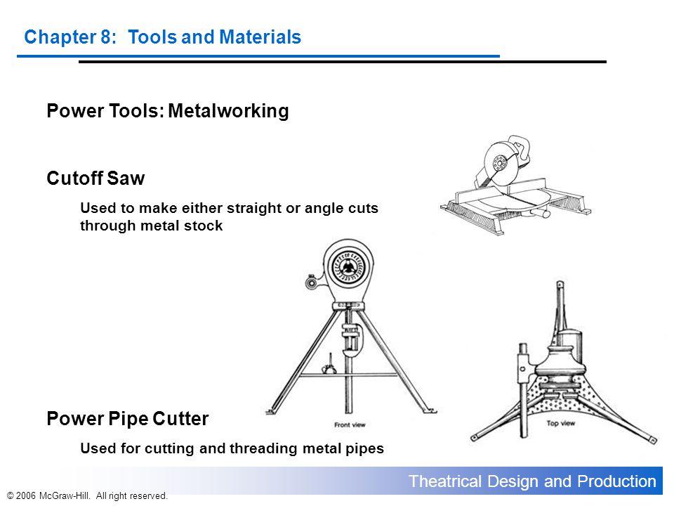 Power Tools: Metalworking