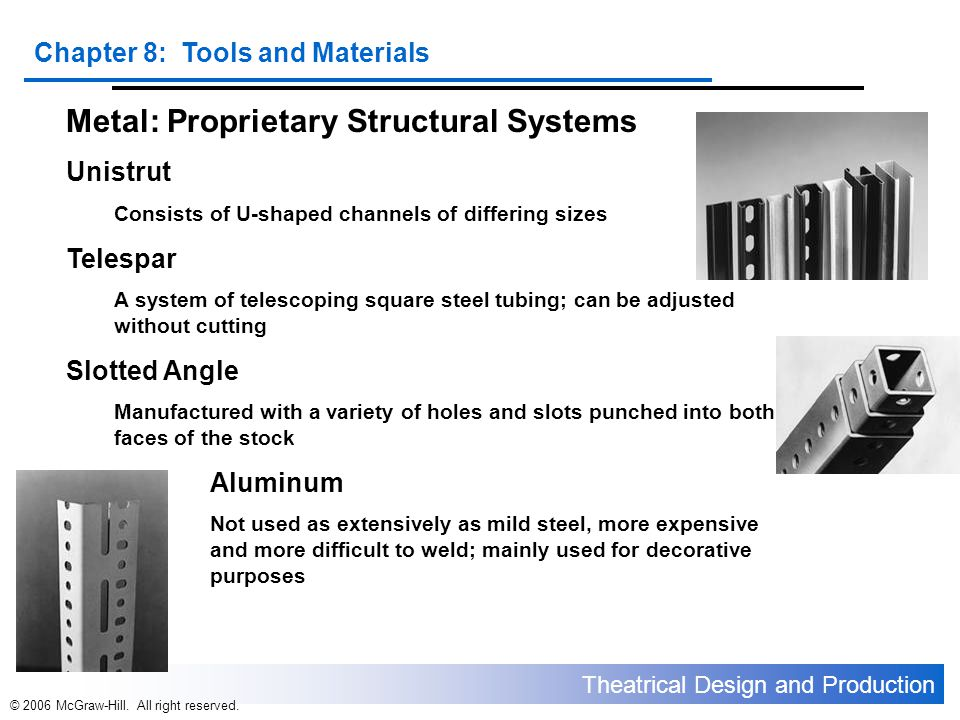 Metal: Proprietary Structural Systems