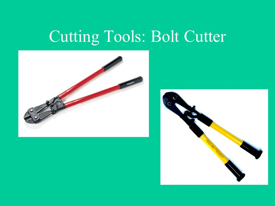 Cutting Tools: Bolt Cutter