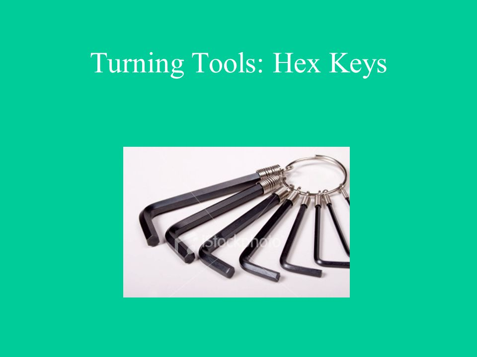 Turning Tools: Hex Keys