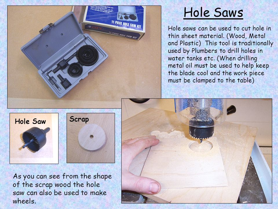 Hole Saws Scrap Hole Saw