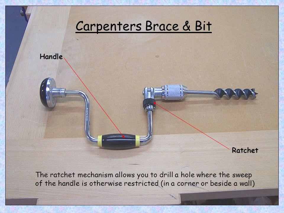 Carpenters Brace & Bit Handle Ratchet