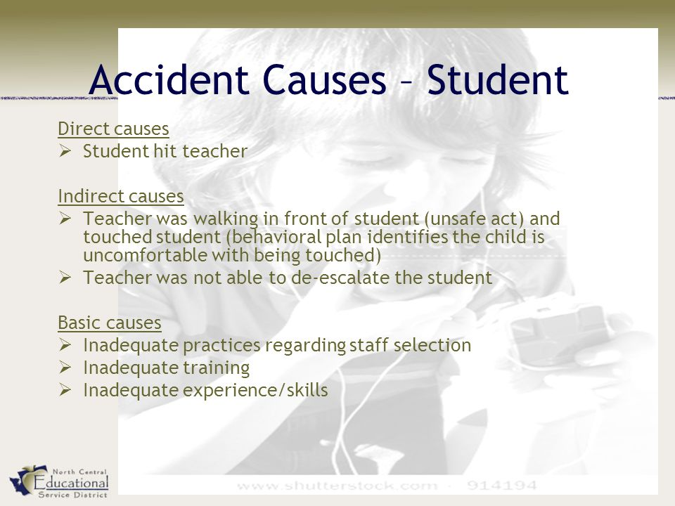 Accident Causes – Student