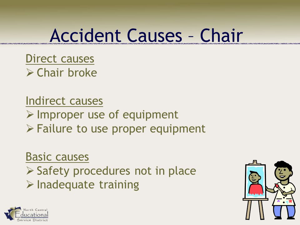 Accident Causes – Chair