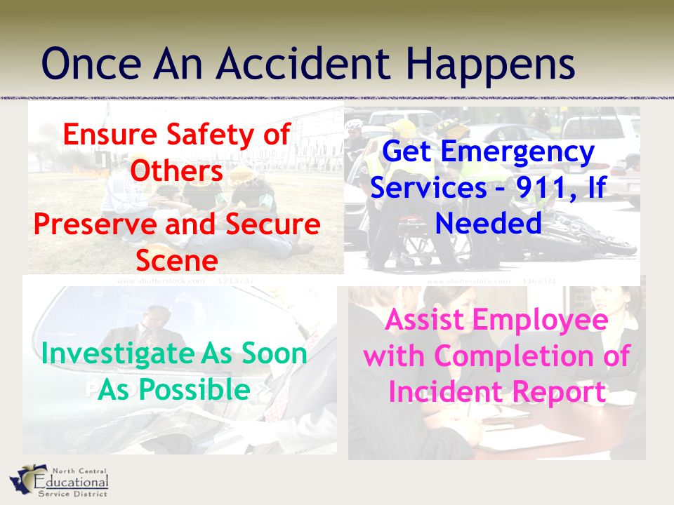 Once An Accident Happens
