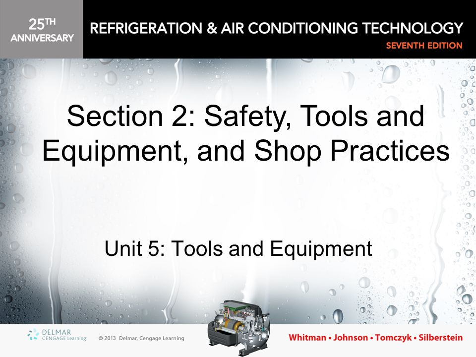 Unit 5: Tools and Equipment