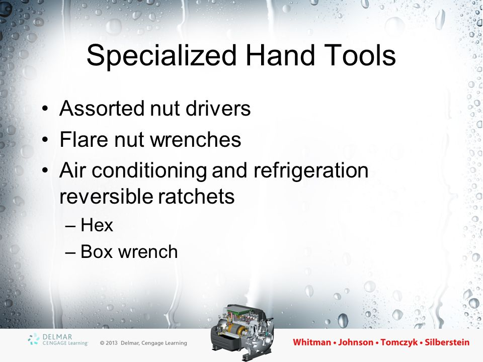 Specialized Hand Tools