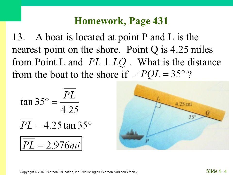 Homework, Page 431