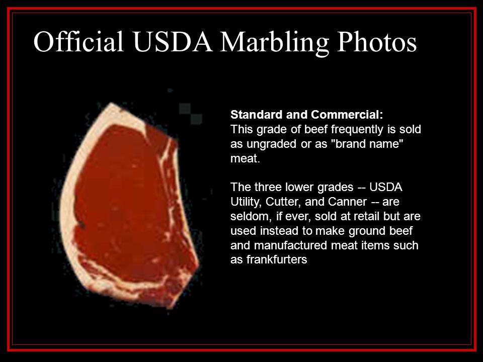 Official USDA Marbling Photos