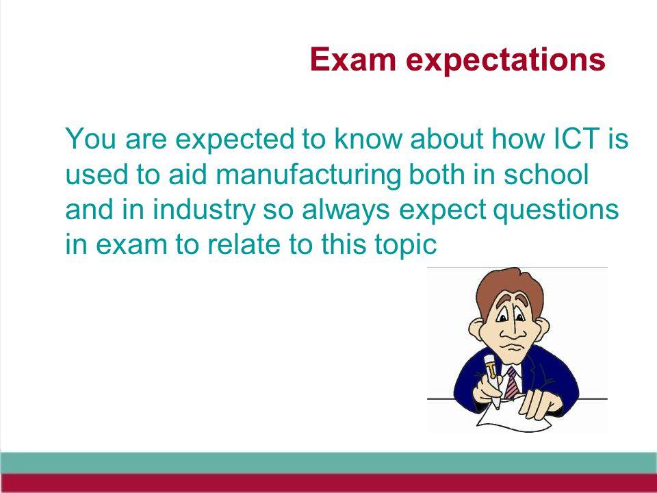 Exam expectations
