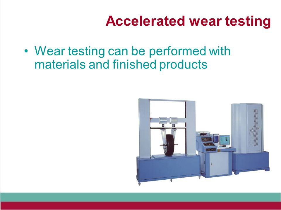 Accelerated wear testing