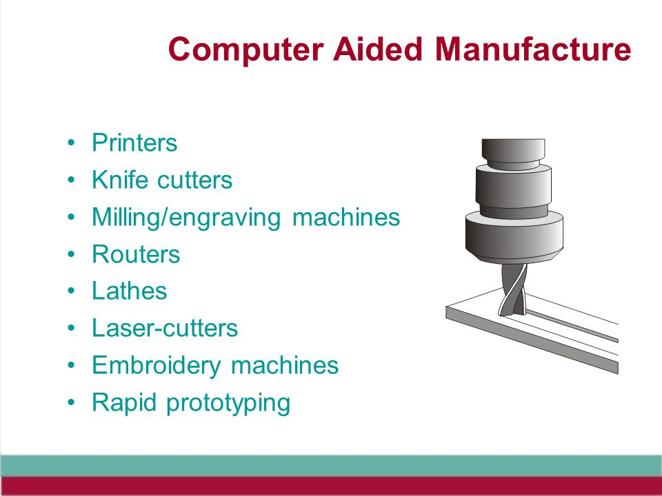 Computer Aided Manufacture