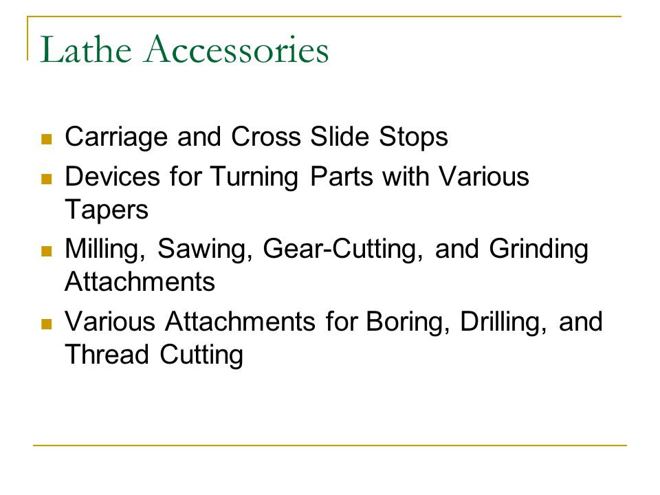 Lathe Accessories Carriage and Cross Slide Stops