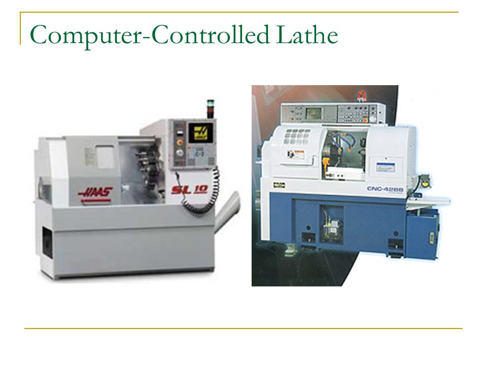 Computer-Controlled Lathe