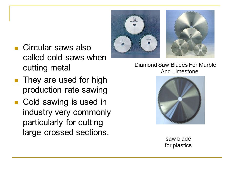 Diamond Saw Blades For Marble And Limestone