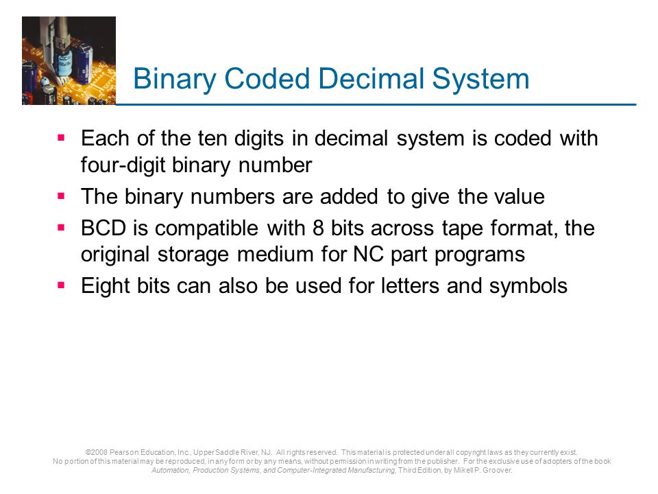 Binary Coded Decimal System