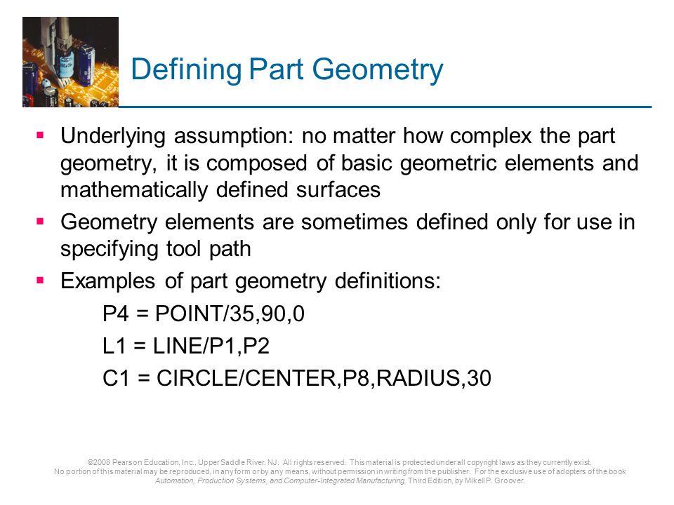 Defining Part Geometry