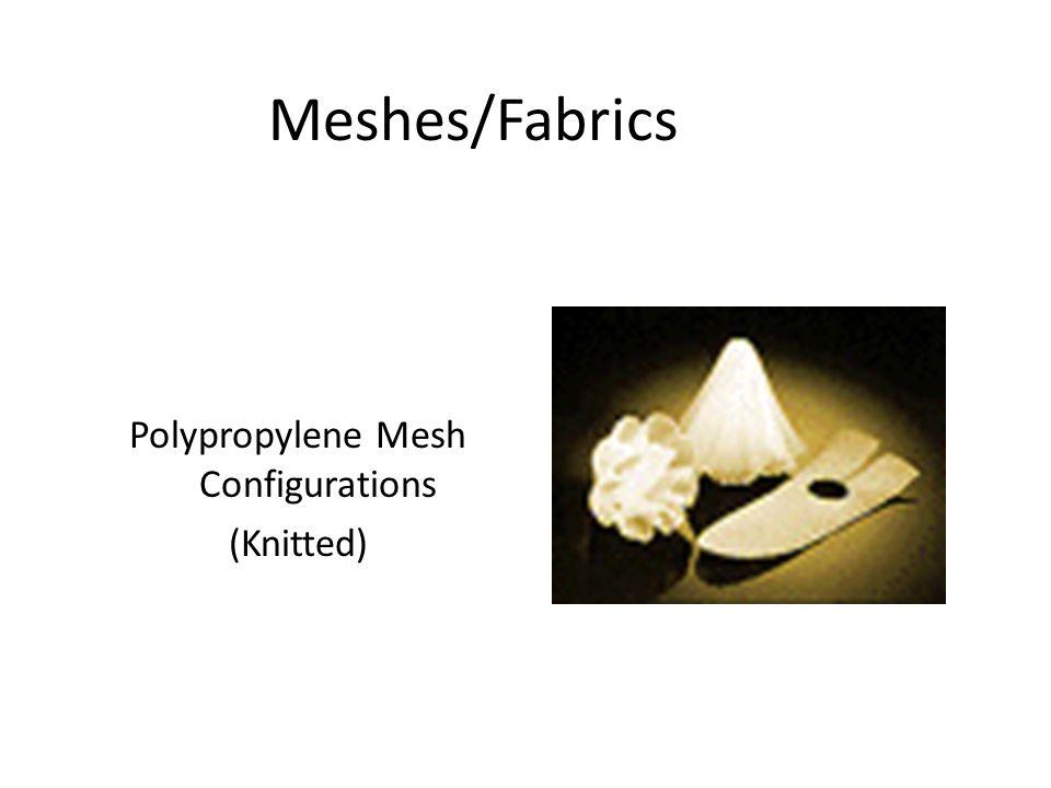 Polypropylene Mesh Configurations