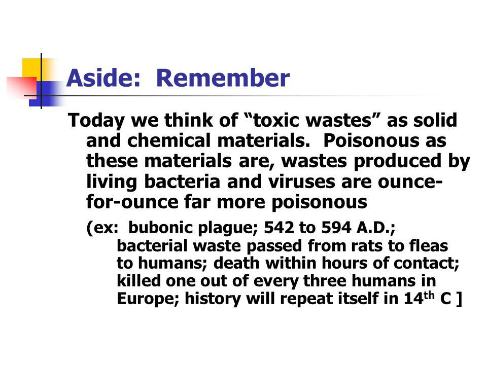 Aside: Remember