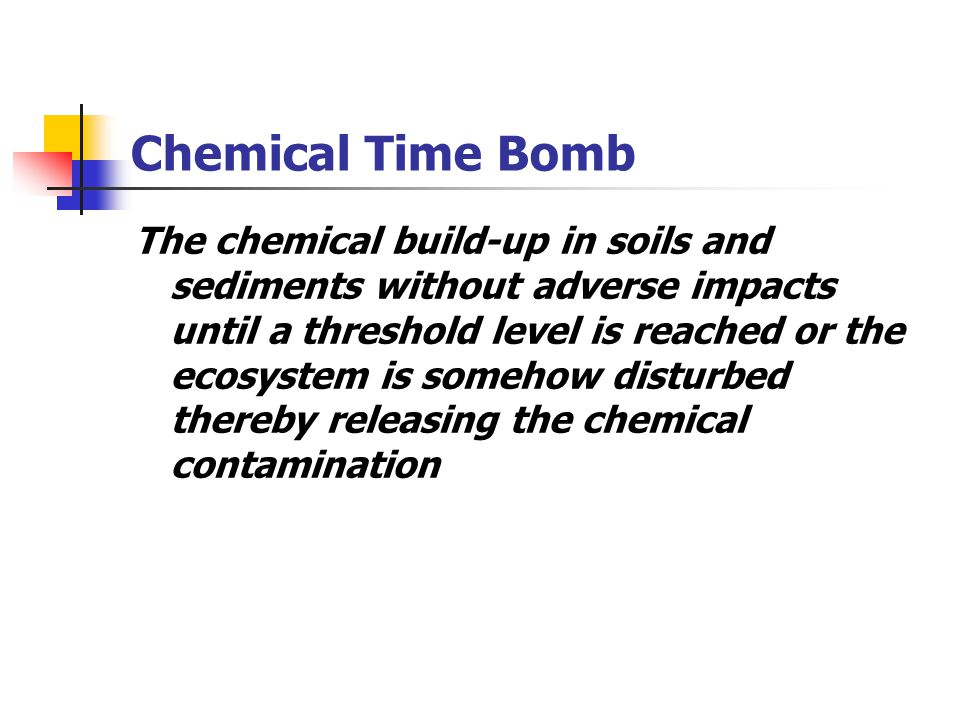 Chemical Time Bomb