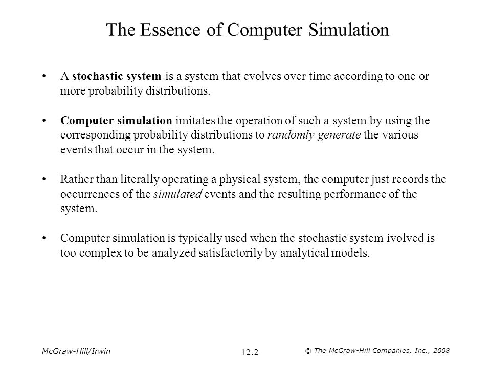 The Essence of Computer Simulation