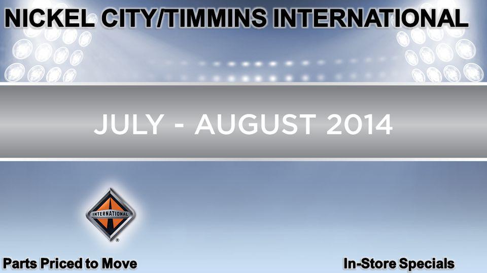 NICKEL CITY/TIMMINS INTERNATIONAL