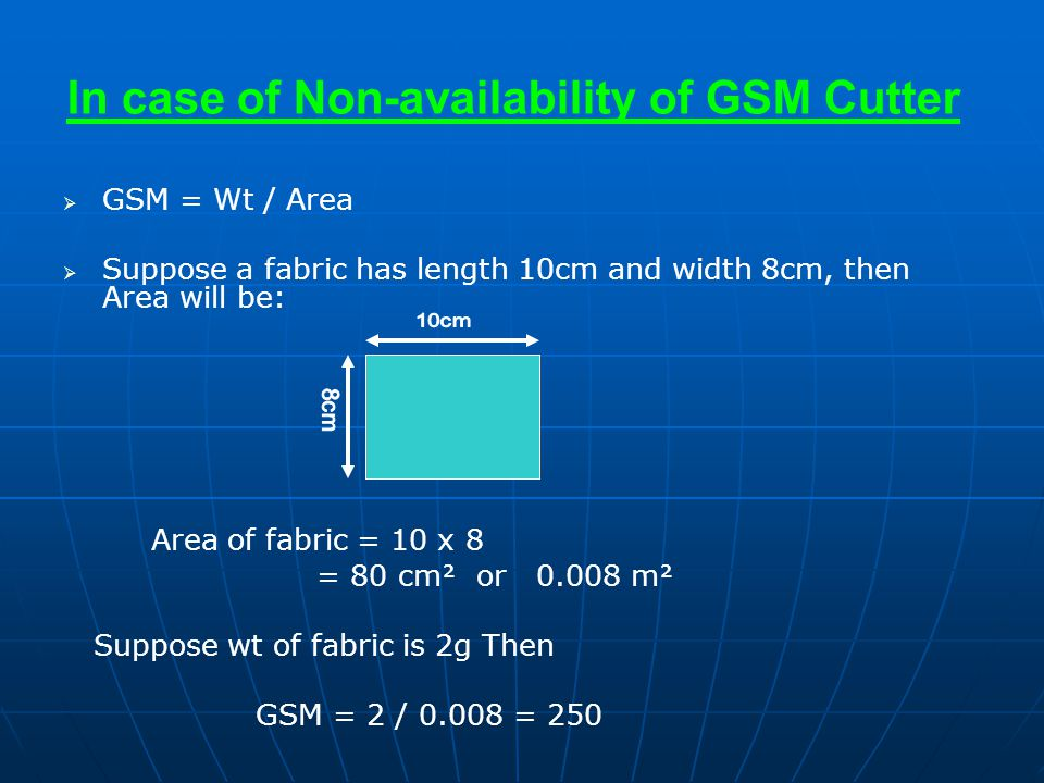 In case of Non-availability of GSM Cutter