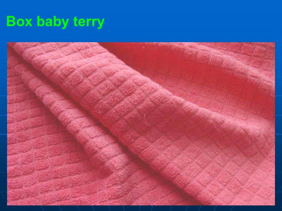 Box baby terry