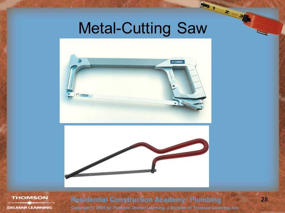 Metal-Cutting Saw