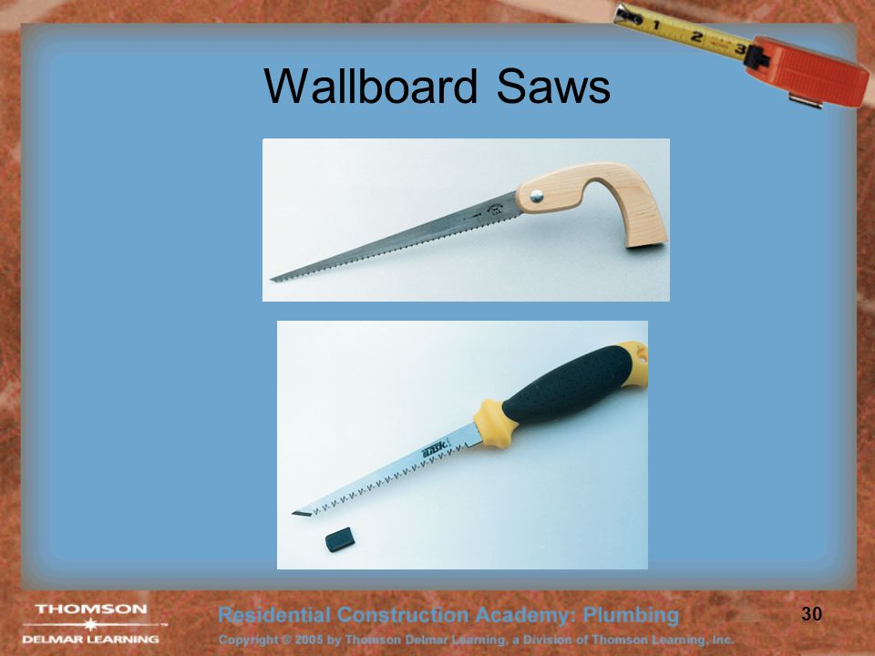 Wallboard Saws