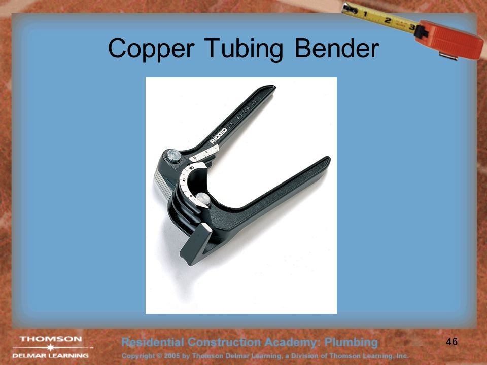 Copper Tubing Bender