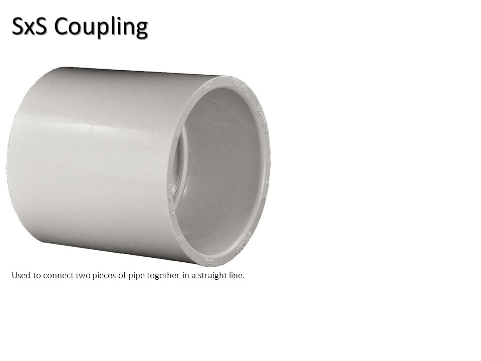SxS Coupling Plumbing Tools And Supplies-PVC Pipe And Fittings Image: PVCCoupling.jpg Height: 540 Width: 711.6.