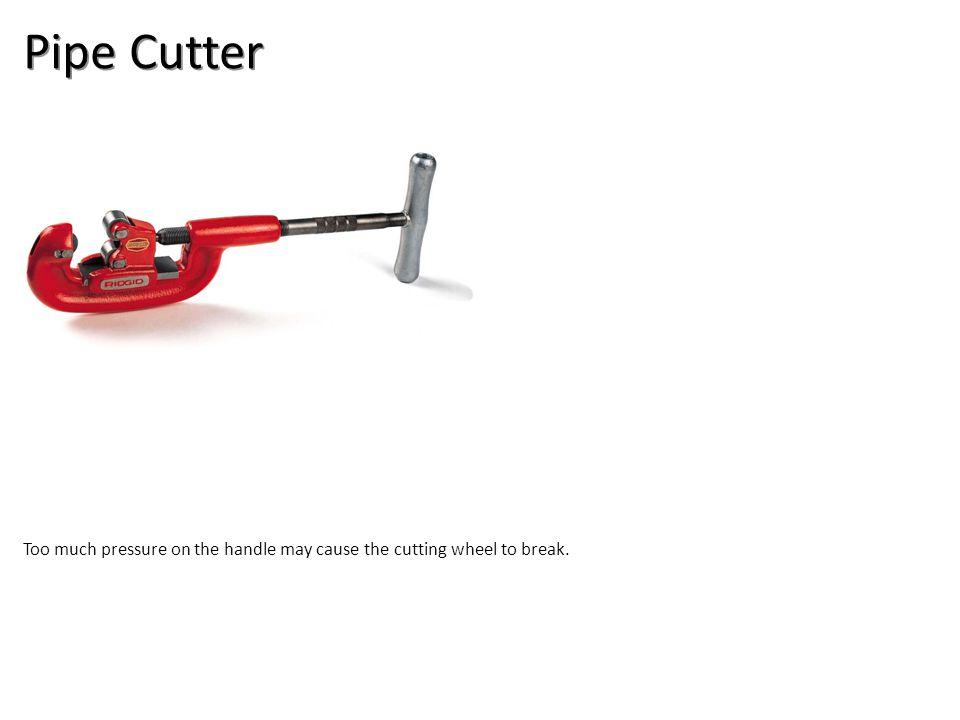 Pipe Cutter Plumbing Tools And Supplies-Plumbing Tools and Supplies Image: pipe cutter.jpg Height: Width: