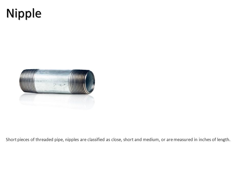 Nipple Plumbing Tools And Supplies-Steel Pipe and Fittings Image: GalvNipple.jpg Height: 1000 Width: 1000.