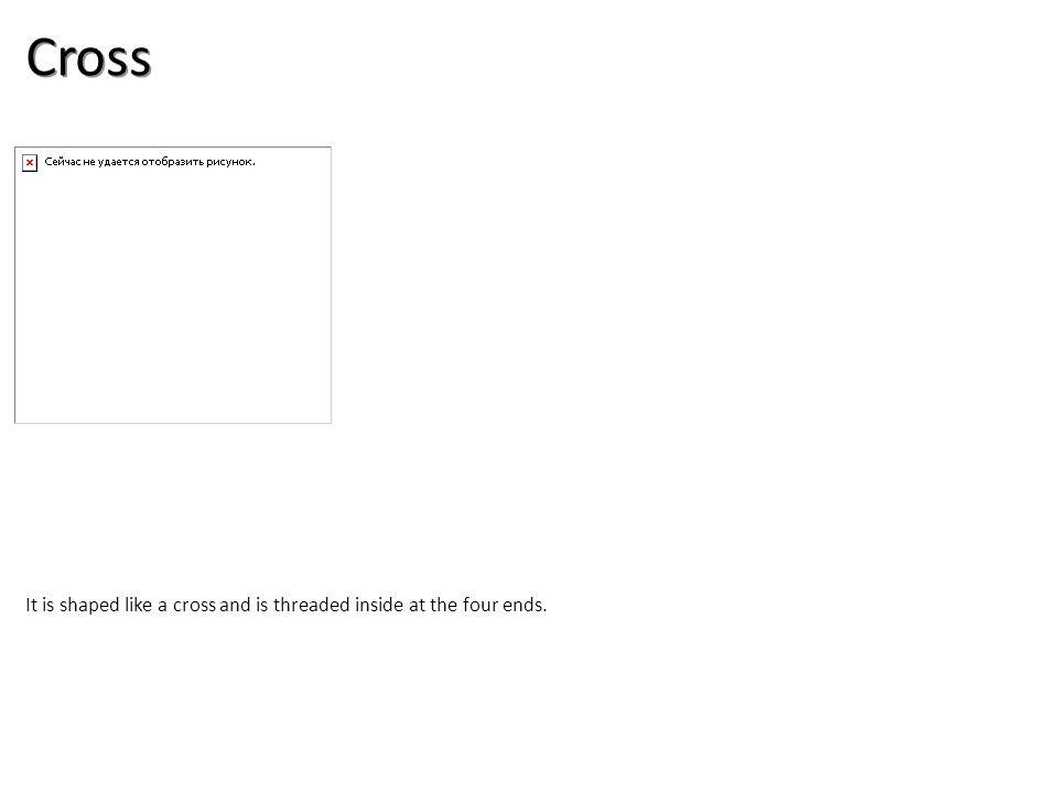Cross Plumbing Tools And Supplies-Steel Pipe and Fittings Image: GalvCross.jpg Height: 126 Width: 144.