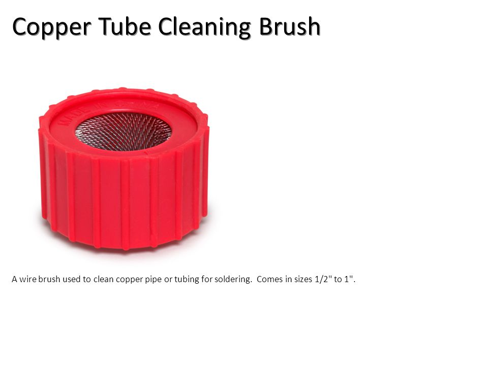 Copper Tube Cleaning Brush